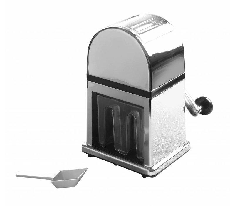 Hendi IJsblokjesvergruizer - Klinge aus rostfreiem Edelstahl - 16-x14-x (H) 270 mm - VIDEO