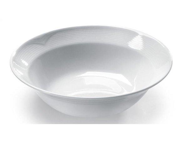 Hendi Salad bowl - 250x70 mm - Saturn - White - Porcelain