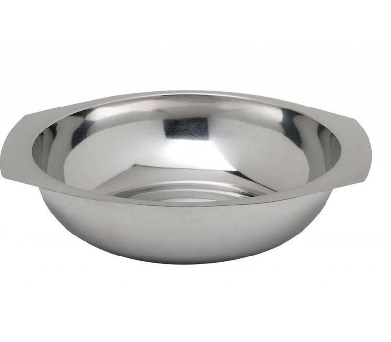 Hendi Vegetable Bowl Edelstahl - 140x (H) 35 mm