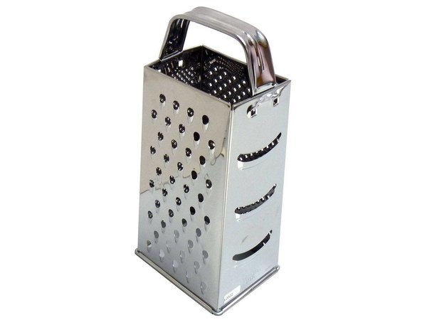 Hendi Stainless steel four-sided grater - 90x65x200 mm