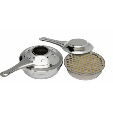Hendi Duobrander chrome suitable for chafing and spirit - 2 pieces
