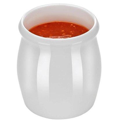 Hendi Dressingpot 125 ml - Weiß - Porzellan
