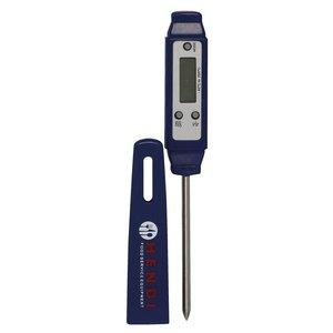 Hendi Kernthermometer Braadthermometer Digitaal 45x180 mm - Met Clipbevestiging | -40 tot 200°C | Wit