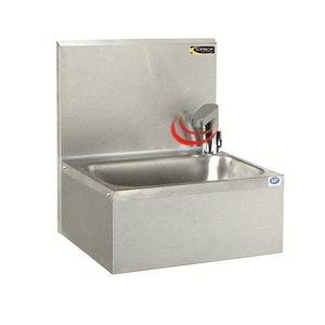 XXLselect RVS Handwasbak   Elektronisch   Zuinig laag waterverbruik   460x380x(H)524 mm