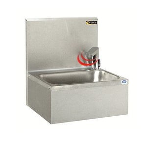 XXLselect Stainless Steel Hand sink | Electronic | Economical low water | 460x380x (H) 524 mm