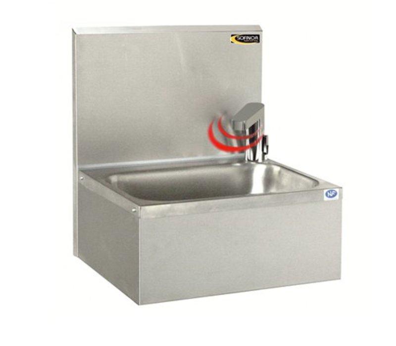 XXLselect Edelstahl-Handwaschbecken | Electronic | Wirtschaftlich niedrigen Wasser | 460x380x (H) 524 mm