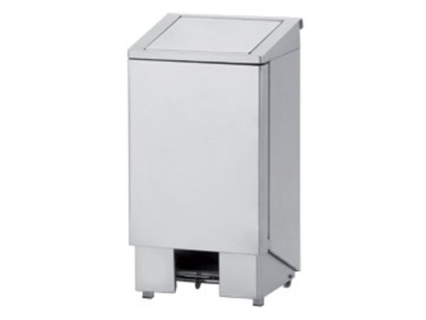 Diamond Waste bin stainless steel with pedal - 120 Liter