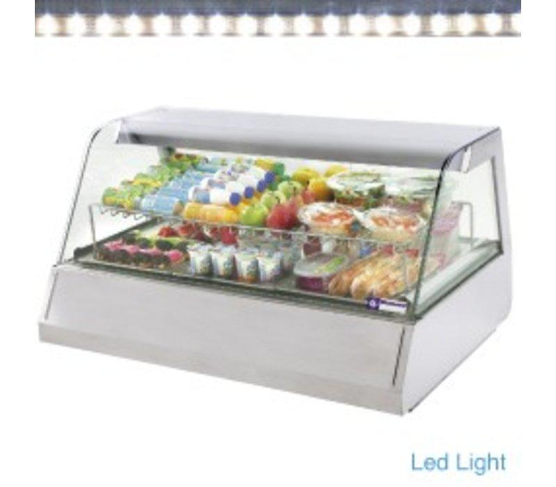 Diamond Refrigerated display case design 3 x 1/1 GN - 120x73x (h) 60cm