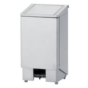 Diamond Waste bin stainless steel with pedal - 60 Liter