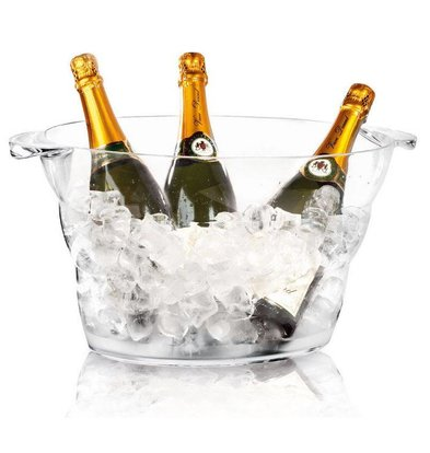 Hendi Champagne Cooler Transparent - Party Tub - 47x29x23 (h) cm - DELUXE