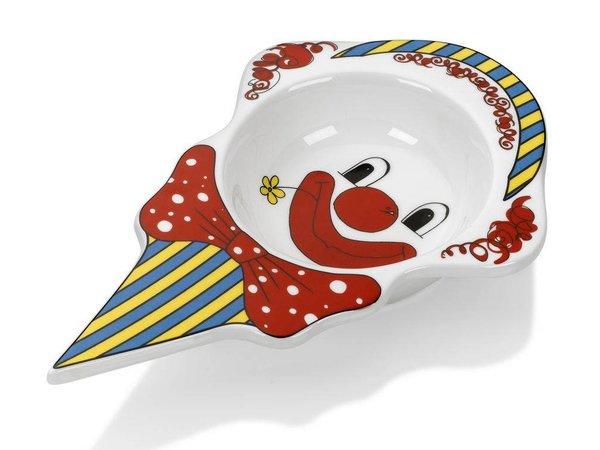 Hendi IJskommetje Clown - 226x145x37 mm - Porcelain