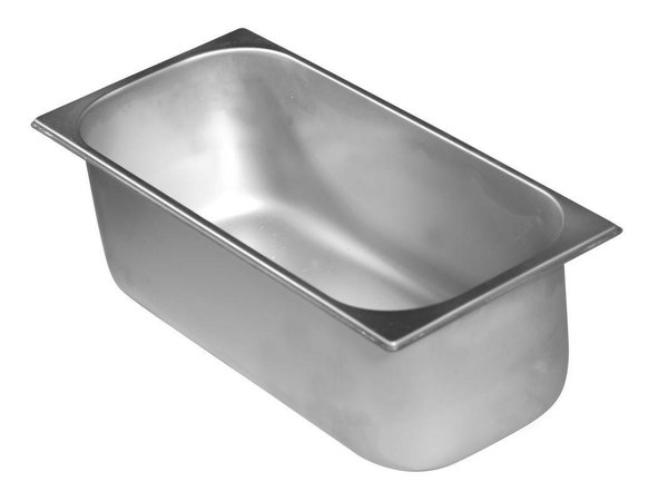 Hendi Stainless steel ice bucket | 6.5 Liter | 360x165x (H) 150mm