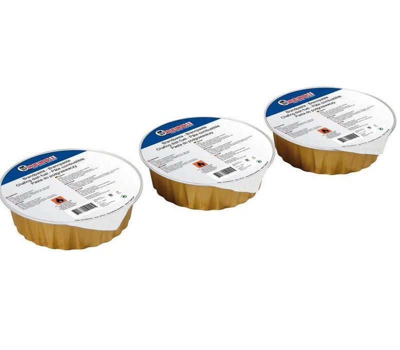 Hendi Brand Pasta - Cartouche 80 g - Ethanol - 3 Stück