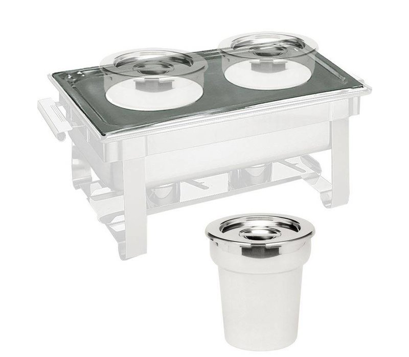 Hendi Attachment for two bain marie pots