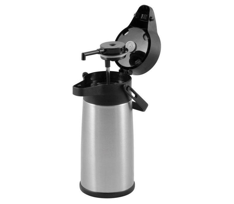 Hendi With pump 2.2 Liter Stainless Steel Airpot