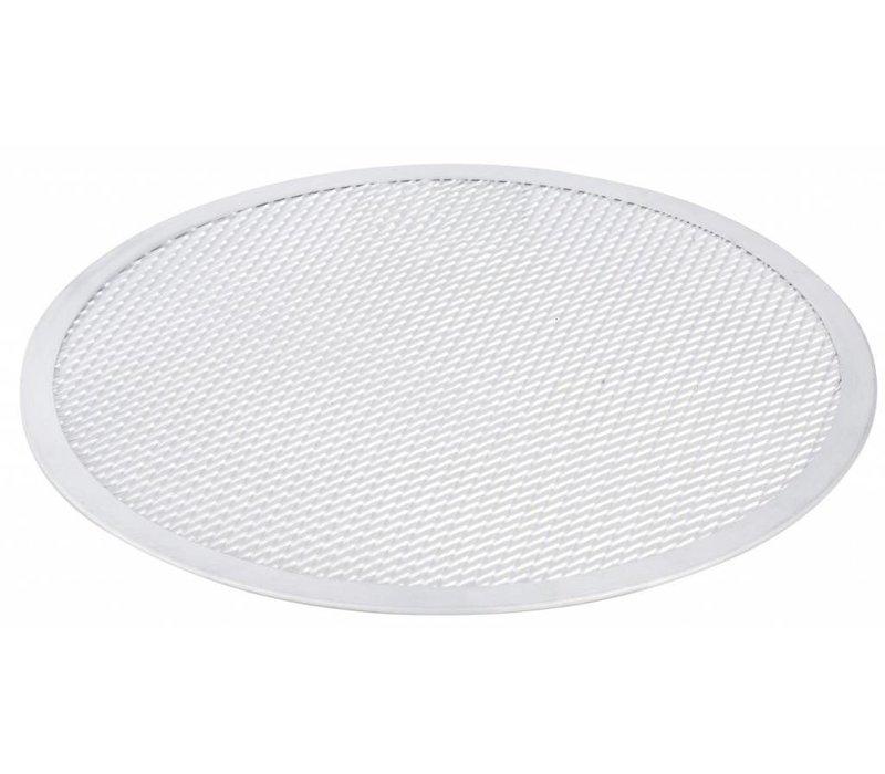 Hendi Pizza Plaat - Stevige Constructie - Aluminium Ø300 mm