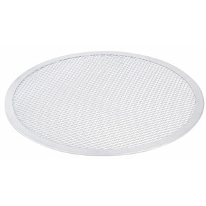 Hendi Pizza Plaat - Stevige Constructie - Aluminium - Ø400 mm