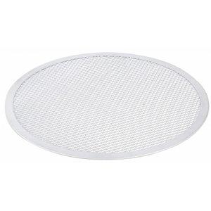 Hendi Pizza-Platte - Solide Bauweise - Aluminium - Ø400 mm