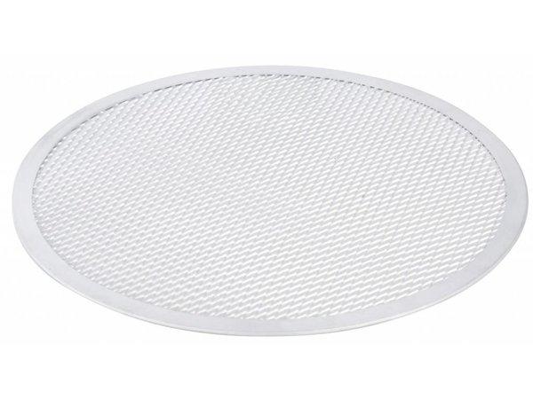 Hendi Pizza-Platte - Solide Bauweise - Aluminium - Ø450 mm