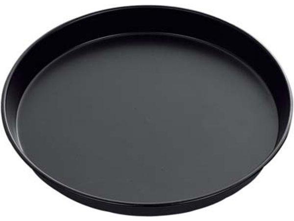 Hendi Pizzablik - Uniforme Hitteverdeling - Blauwstaal - Ø300x(h)25 mm