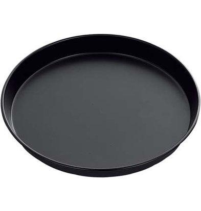 Hendi Pizza Blick - gleichmäßige Wärmeverteilung - Blau Sprache - Ø400x (h) 25 mm
