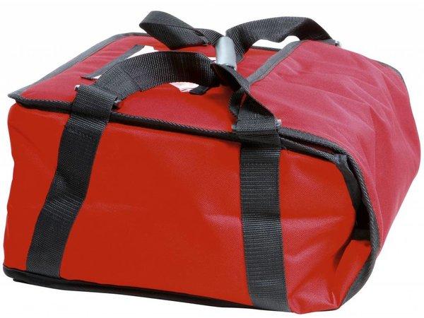 Hendi Pizza transport tas 450x450 mm - H 50 mm geschikt voor 4 dozen