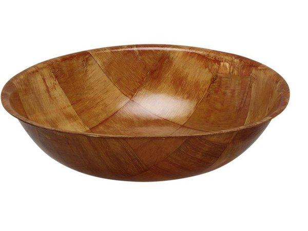 Hendi Pitabakje rond 200x50 mm - gelakt hout