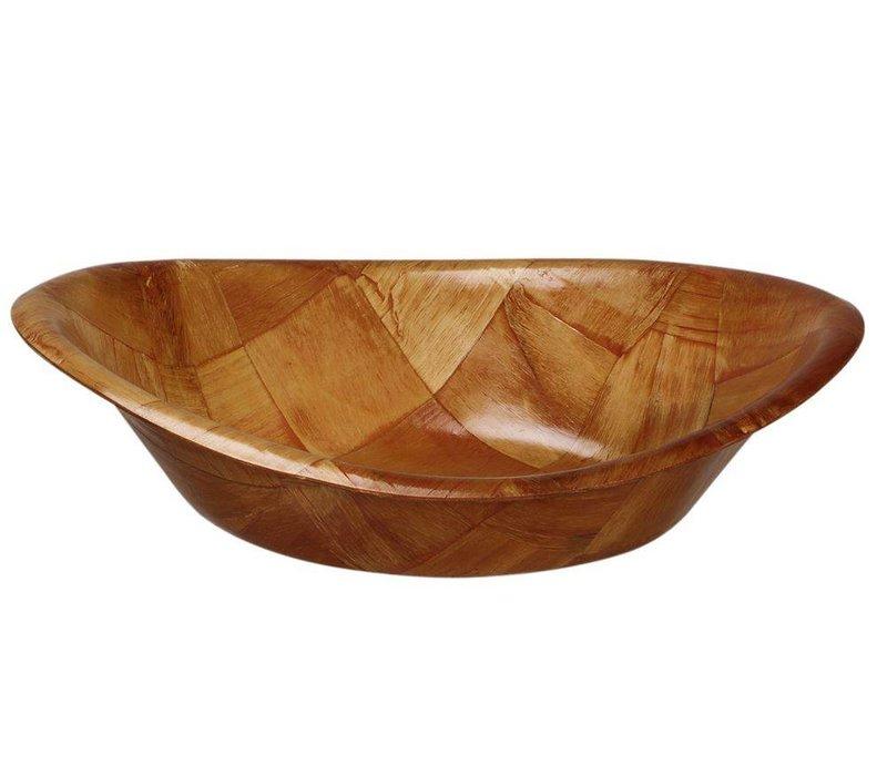 Hendi Pitabakje Ovaal - Gelakt Hout - 200x(h)140 mm