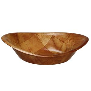 Hendi Pita tray Oval - Painted Wood - 200x (H) 140mm