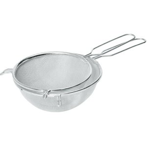Hendi Pass through sieve tin 230x400 mm - with wire handle