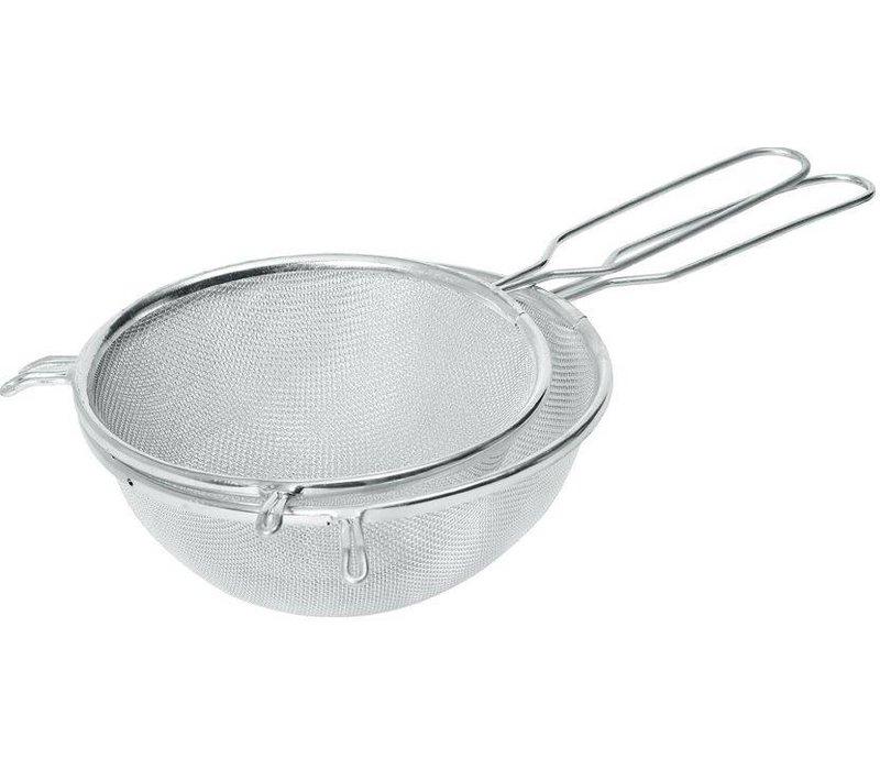 Hendi Pass through sieve tin 250x400 mm - with wire handle