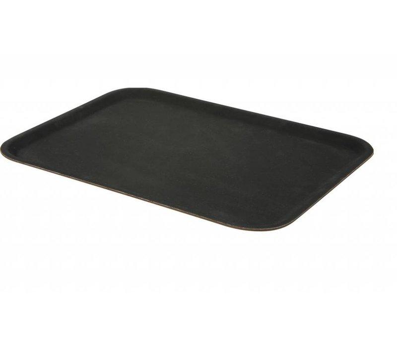 Hendi Professioneel Dienblad | Zwart met Glasvezel Versterkt Polyester | 1/1 GN | 325x530 mm