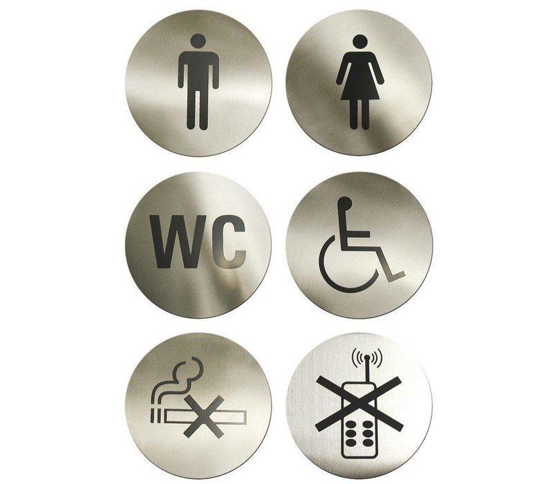 Hendi Kinder Edelstahl-Toilette - 75 mm