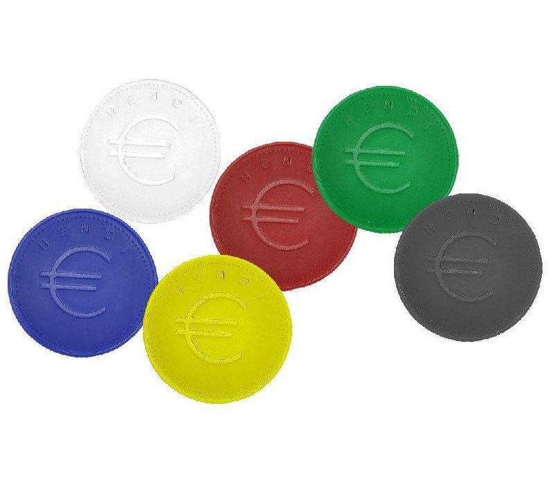 Hendi Tokens Red - ABS Card 100 - 2mm