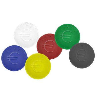 Hendi Tokens Blue - ABS Card 100 - 2mm