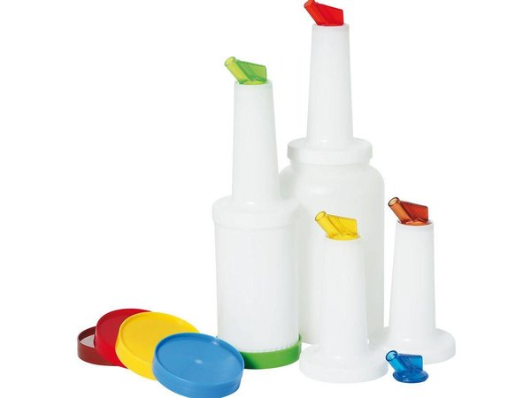 Hendi Keep Schenk & PP Bottle 0.8 l - PC lid spout AS Green