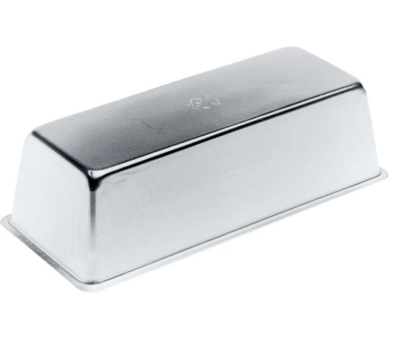 Hendi Kuchenform 180x80x60 mm - Aluminium-Rechteck