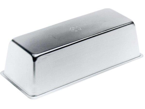Hendi Cakevorm 260x100x75 mm - rechthoekig aluminium