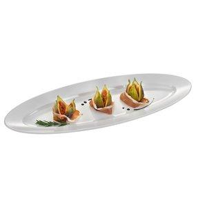 Hendi Buffet Bowl Oval | Melamine | 610x230x (H) 42mm
