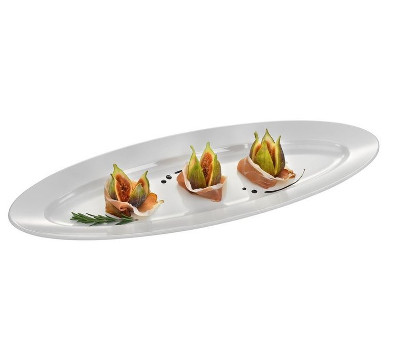 Hendi Buffet Bowl Oval | Melamine | 610x230x (H) 42mm