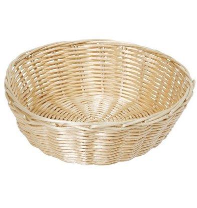 Hendi Bread basket round poly rattan - 200x (H) 65 mm
