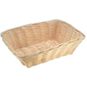 Hendi Bread Basket Rectangular - Poly Rattan - 230x150x (h) 70mm
