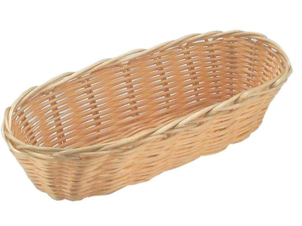 Hendi Bread Basket Oval - Poly Rattan - 3 pieces - 230x100x (h) 60mm