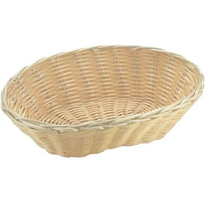 Hendi Bread Basket Oval - Polyrattan - 3er Set - 230x150x (h) 65 mm