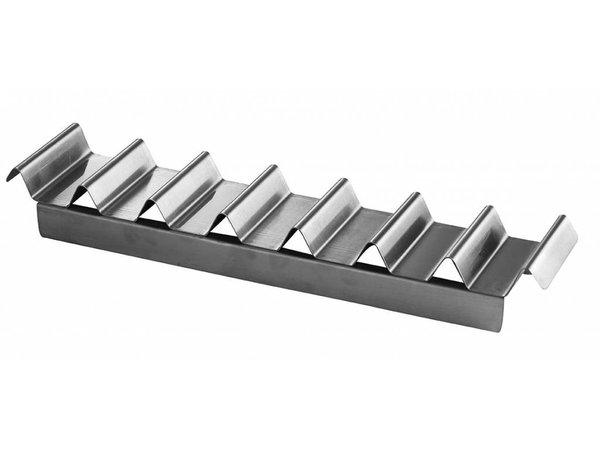 Hendi Broodjes-dispenser   RVS   voor 7 broodjes   475x105x60 mm