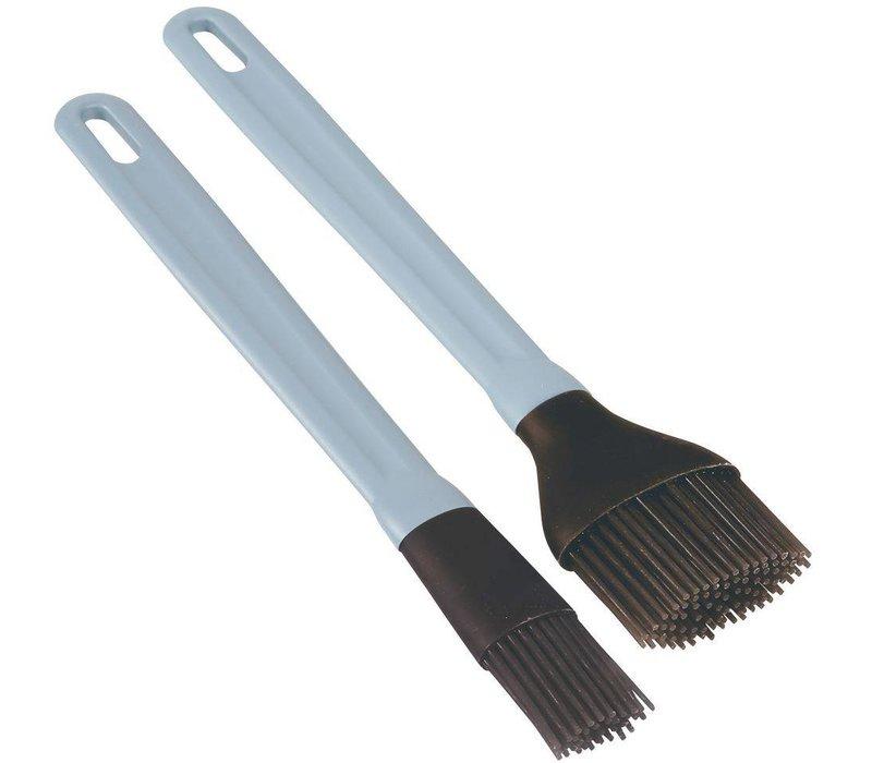 Hendi Silicone basting brush 50x235 mm - with PP handle