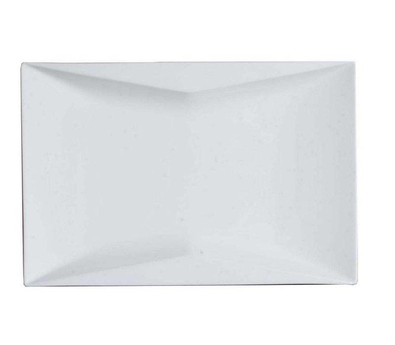 Hendi Sign rectangle Torro - 360x240x30mm - White - Porcelain