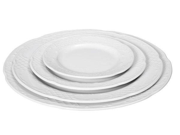 Hendi Board flat - 270x24 mm - Flora - White - Porcelain