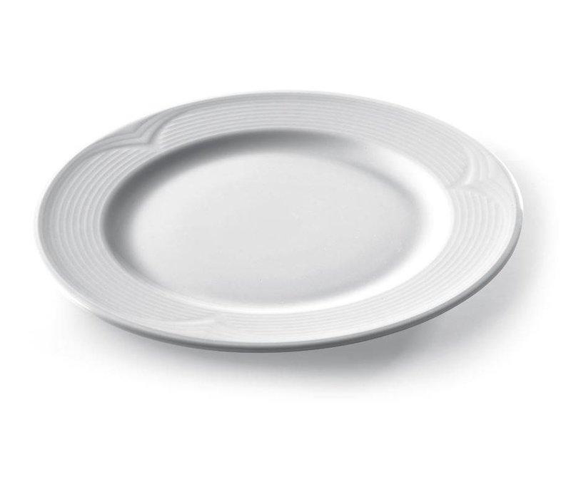 Hendi Board flat - 320x25 mm Saturn - White - Porcelain