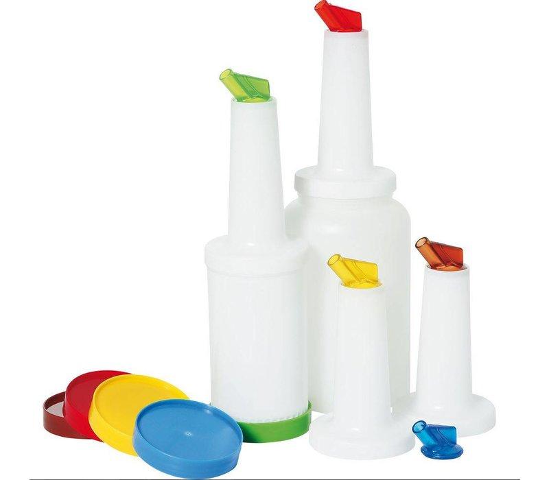 Hendi Keep Schenk & PP Bottle 0.8 l - PC lid spout AS Yellow
